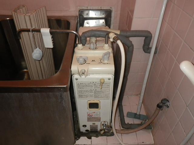 尼崎市昭和通マンション ノーリツ シャワー付きバランス釜 取替交換工事施工 31-697 RBF-65ND から GBSQ-620D
