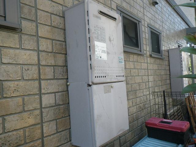 明石市魚住町 ハイツ ノーリツ20号 ガス風呂給湯器 取替交換工事施工 GT-2028SAWX から GT-2060SAWX-1