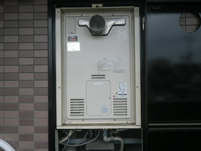 芦屋市大原町マンション リンナイ24号ガスふろ給湯器 取替交換工事施工 大阪ガス44-606 から RUF-A2405SAT-L(B)
