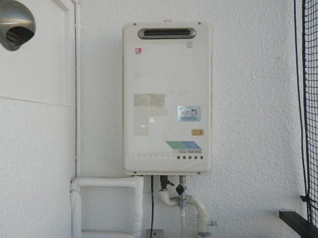 神戸市灘区友田町マンション ノーリツ16号ガス給湯器 取替交換工事施工 GQ-166WE から GQ-1639WS-1