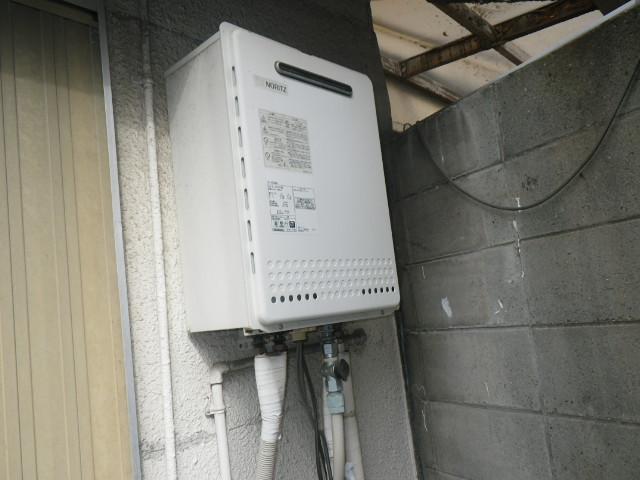 神戸市東灘区青木 戸建住宅 ノーリツ16号ガスふろ給湯器 取替交換工事施工 GT-1628SAWX から GT-1660SAWX-1 BL