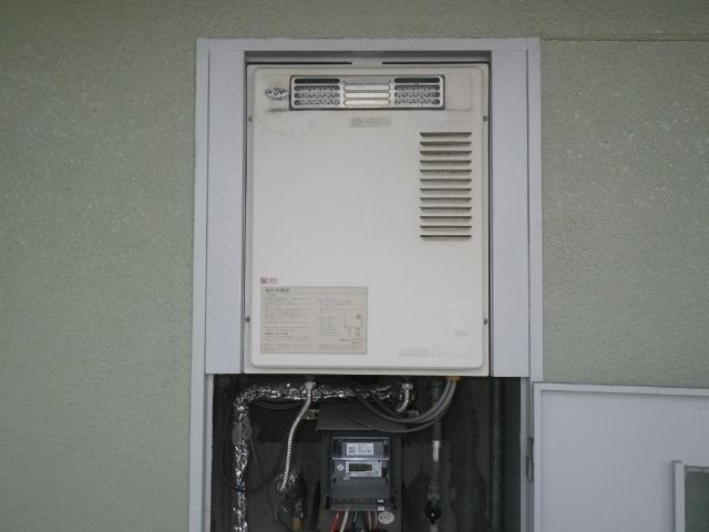 尼崎市栗山町マンション ノーリツ16号ガス給湯器 取替交換工事施工 大阪ガス33-882 から GQ-1639WS-1