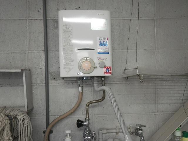 西宮市門戸西町 戸建住宅 ノーリツ 元止め湯沸かし器 取替交換工事施工 大阪ガス から GQ-531MW