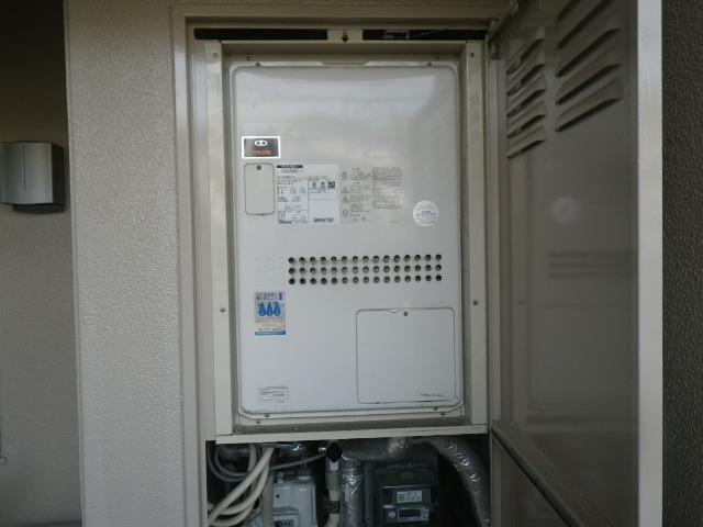 神戸市東灘区森北町マンション ノーリツ24号ガス温水暖房付ふろ給湯器 取替交換工事施工 大阪ガス135-N055A GTH-2434AWX6H-TB から GTH-2444AWX3H-TB-1 BL