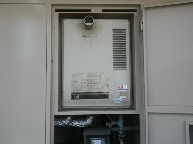 大阪市北区中津マンション ノーリツ16号ガス給湯器 取替交換工事施工 大阪ガス 33-691 から GQ-1626WS-60T BL