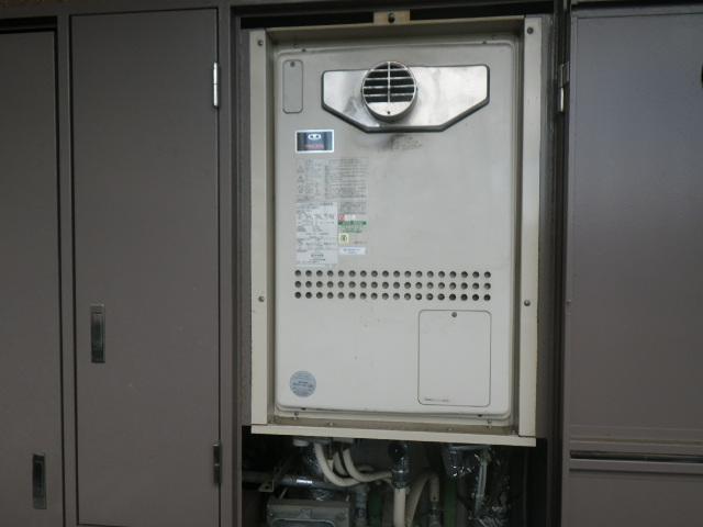 尼崎市食満マンション ノーリツ 24号ガス温水暖房付風呂給湯器 取替交換工事施工 大阪ガス44-251 から GTH-2444AWX3H-T-1