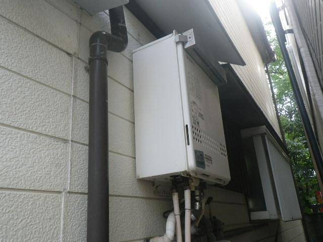 尼崎市栗山町 戸建住宅 ノーリツ24号ガスふろ給湯器 取替交換工事施工 GT-2427SAWX から GT-2460SAWX-1