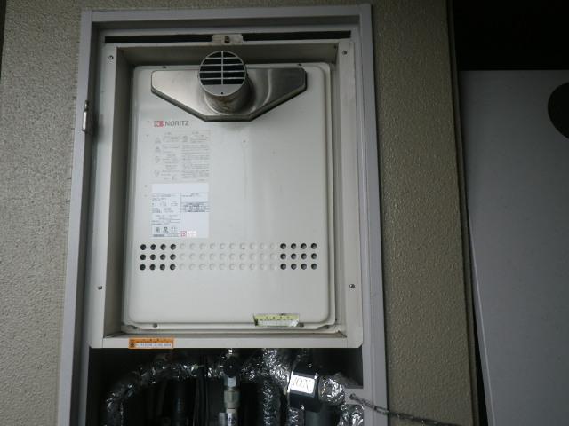 尼崎市大西町マンション ノーリツ24号ガスふろ給湯器 取替交換工事施工 GT-2427SAWX-T-1 から GT-2460SAWX-T-1