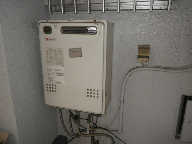 尼崎市南塚口町 マンション ノーリツ16号ガスふろ給湯器 取替交換工事施工 GT-1627SAWX から GT-1660SAWX-1