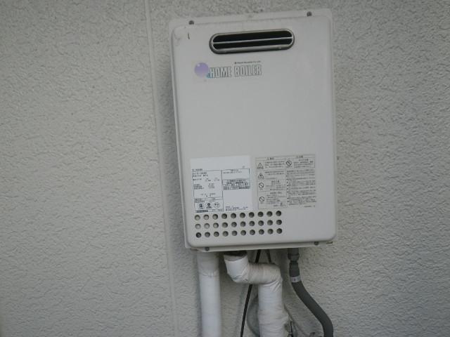 神戸市東灘区本庄町ハイツ ノーリツ16号ガス給湯器 取替交換工事施工 日立ハウステック KS-166SABH から GQ-1639WS-1