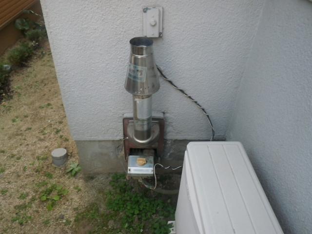 尼崎市南七松町 戸建住宅 ノーリツ16号ガスふろ給湯器 取替交換工事施工 GT-1660SAWX-1