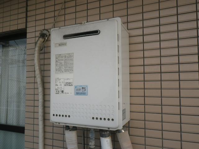 尼崎市富松町マンション ノーリツ16号ガスふろ給湯器 取替交換工事施工 GT-1628SAWX から GT-1660SAWX-1