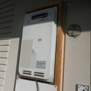 尼崎市富松町 マンション ノーリツ16号ガス給湯器 取替交換工事施工 大阪ガス 33-390 から GQ-1639WS-1