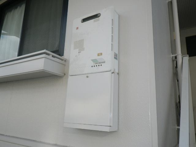 尼崎市若王寺 ハイツ ノーリツ16号ガス給湯器 取替交換工事施工 GQ-1604WS から GQ-1639WS-1