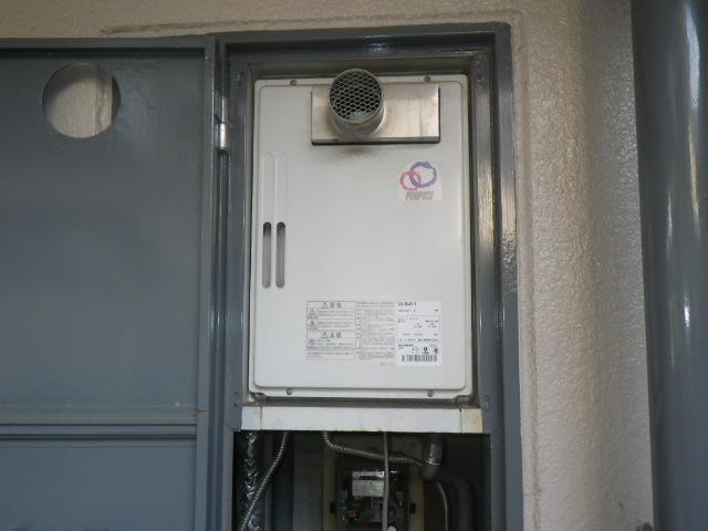 尼崎市南塚口町マンション ノーリツ16号ガス給湯器 取替交換工事施工 パーパスGS-164T から GQ-1639WS-T-1
