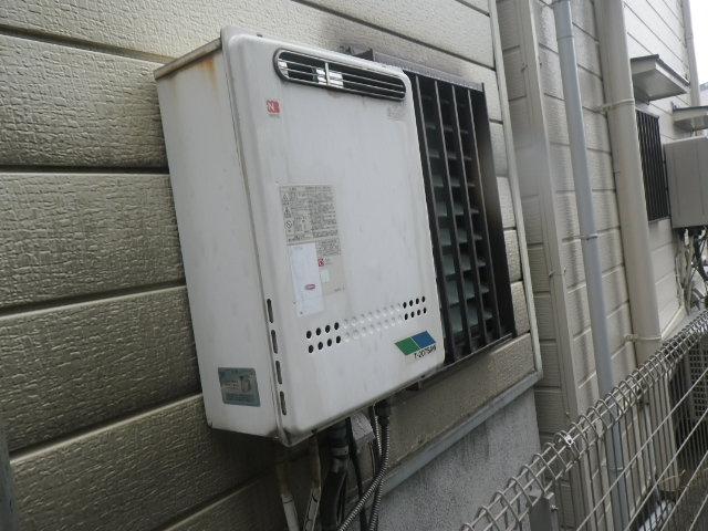 大阪市平野区 戸建住宅 ノーリツ20号ガスふろ給湯器 取替交換工事施工 T-207SAW から GT-2060SAWX-1 BL