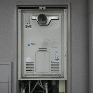 神戸市東灘区森南町マンション ノーリツ24号ガス風呂給湯器 取替交換工事施工 大阪ガス44-271 から GT-2460AWX-T-1
