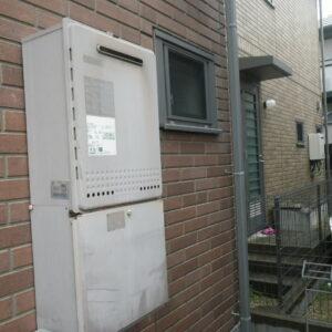 西宮市甲子園二番町 戸建住宅 ノーリツ20号 ガスふろ給湯器 取替交換工事施工 GT-2028SAWX から GT-2060SAWX-1 BL