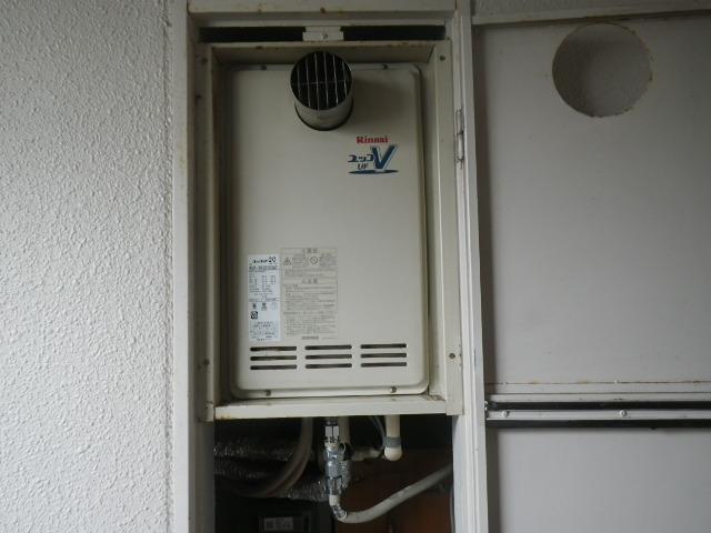 大阪府豊中市マンション リンナイ20号ガスふろ給湯器 取替交換工事施工 RUF-VK2010SAT から RUF-VK2010SAT(B)