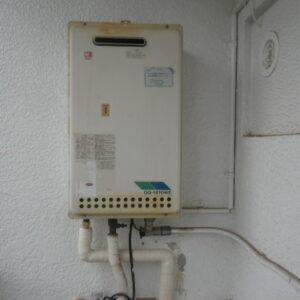 神戸市東灘区住吉本町マンション ノーリツ16号ガス給湯器 取替交換工事施工 GQ-1610WE から GQ-1639WS-1