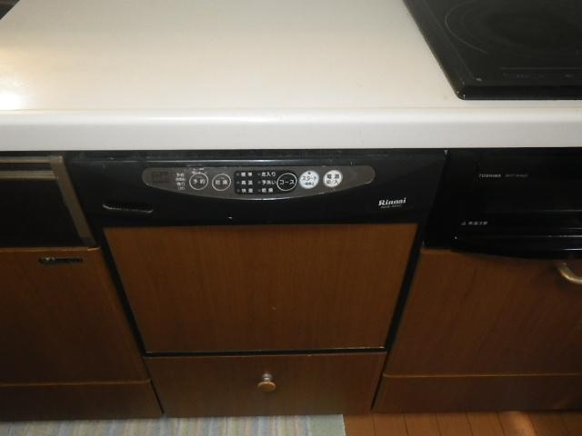 西宮市甲子園 戸建住宅 三菱 食器洗い乾燥機 取替交換工事施工 リンナイRKW455C から EW-45R2B